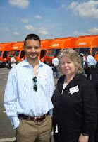 Jean Lambert with James Shaw