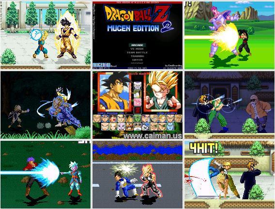โหลดเกมพีซี Dragon Ball Z MUGEN Edition 2