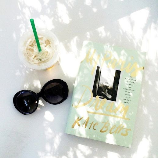 Le Fashion Blog Instagram Versace Round Sunglasses My Paris Dream Kate Betts Book