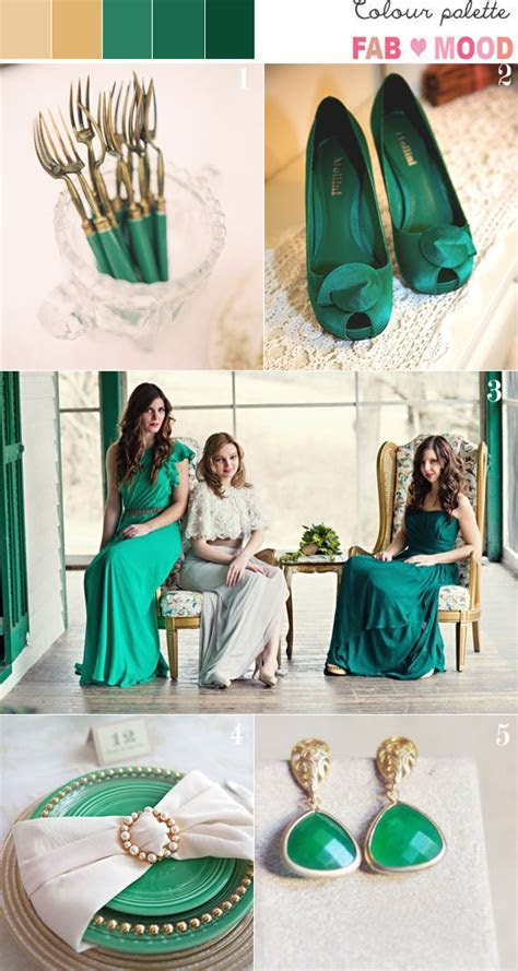 Emerald and gold wedding colors,emerald green and gold