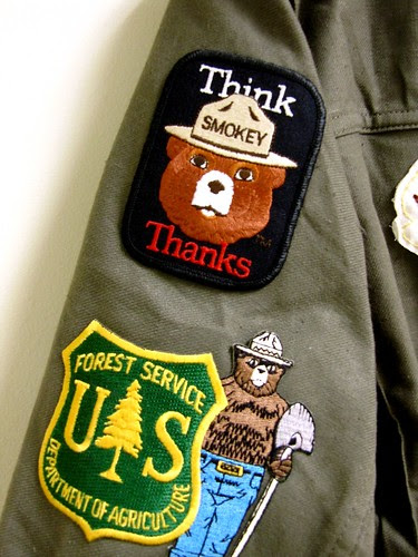 Smokey Da Bear Patches
