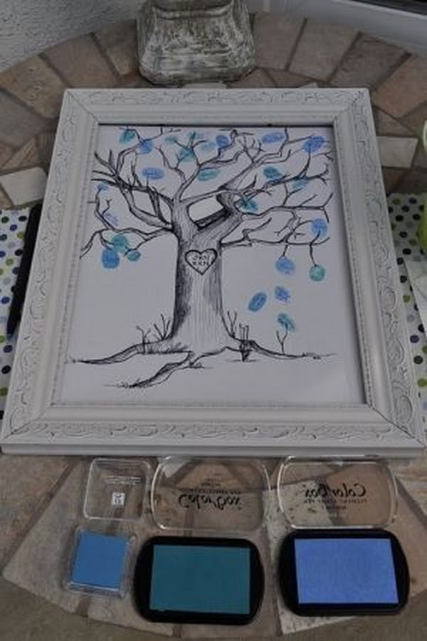 17 Cool Diy Baby Shower Guest Book Ideas Page 17 Foliver Blog