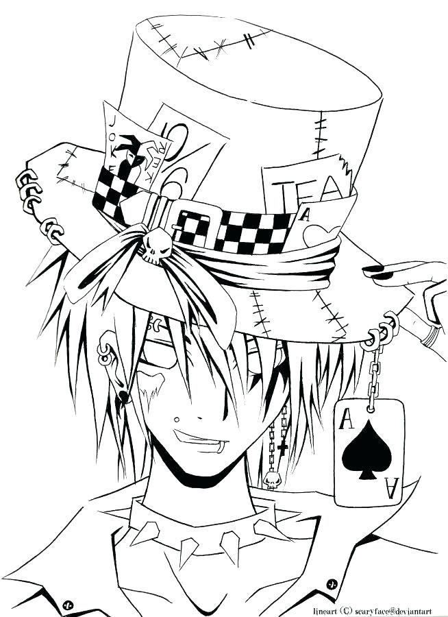 Coloring Pages For Adults Anime at GetColorings.com   Free ...