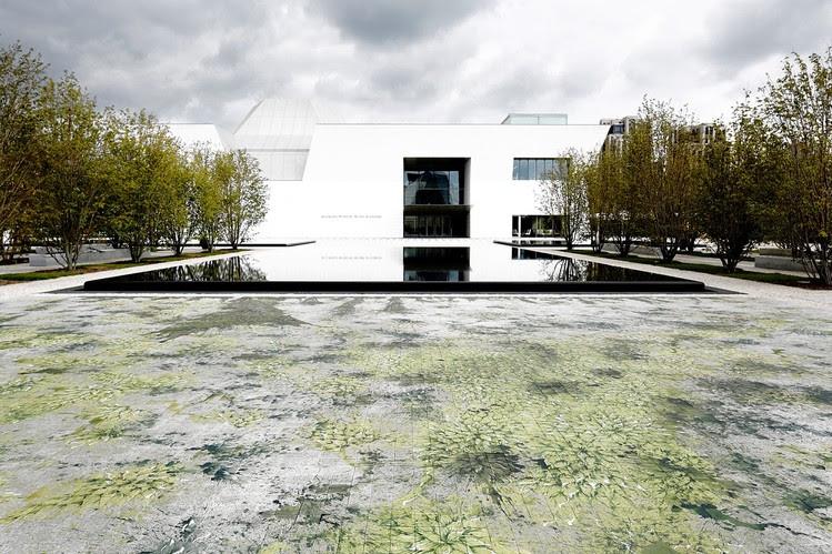 Toronto's Aga Khan Museum; building designed by Fumihiko Maki.