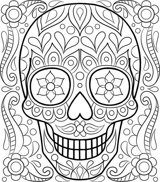 Free Printable Coloring Pages For Adults Easy - Coloring And Drawing
