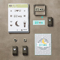 Pictogram Punches Clear-Mount Bundle by Stampin' Up!