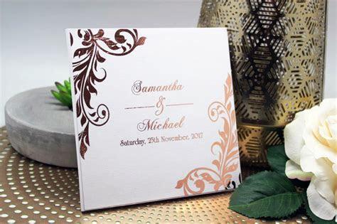 Bespoke Invitations From $1.50ea : Samantha & Michael