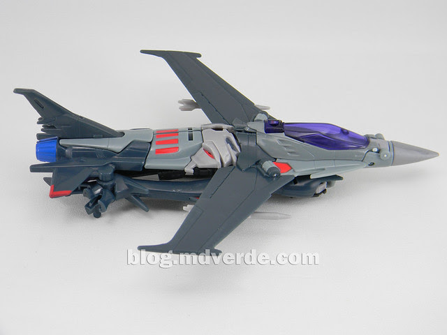 Transformers Starscream Voyager - Prime RID - modo alterno
