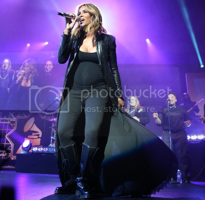 Ciara debuts new song 'Anytime' at official Grammy after-party in LA...