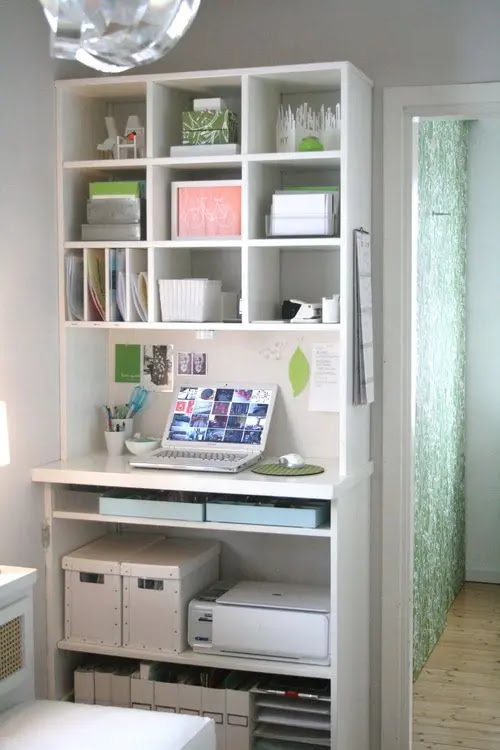 33 Cool Small Home Office Ideas | DigsDigs
