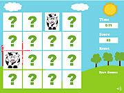 Jogar Farm animals memory game Jogos