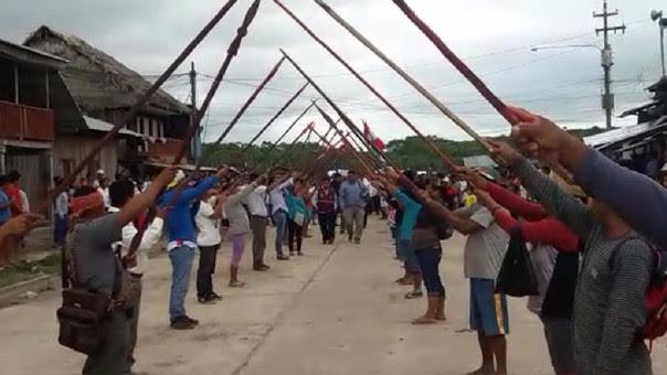 Huelga en Lagunas