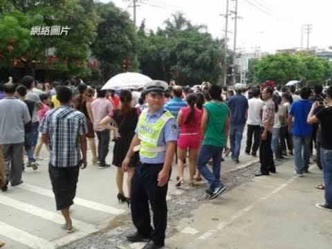 广西上千人抗议加纳中使馆不作为