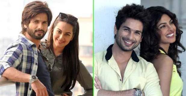 Shahid Finally Confirms That He Dated Sonakshi and Priyanka At Koffee With Karan 6