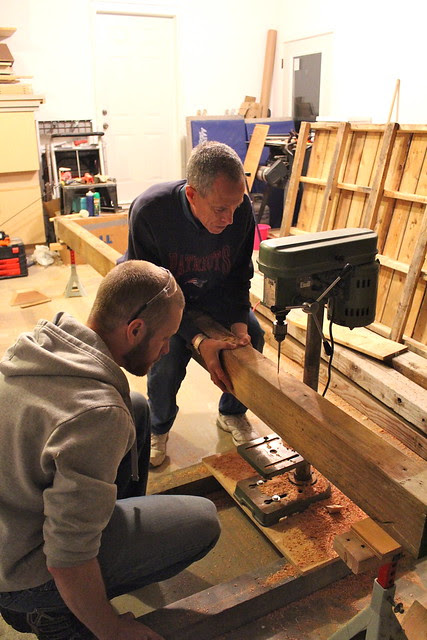 Building our 12 Foot Dining Table