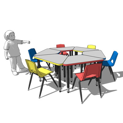 2300 circle childrens desks and chairs royal seating_FF_Model_ID4743_1_2300_learning_circle_desk_1