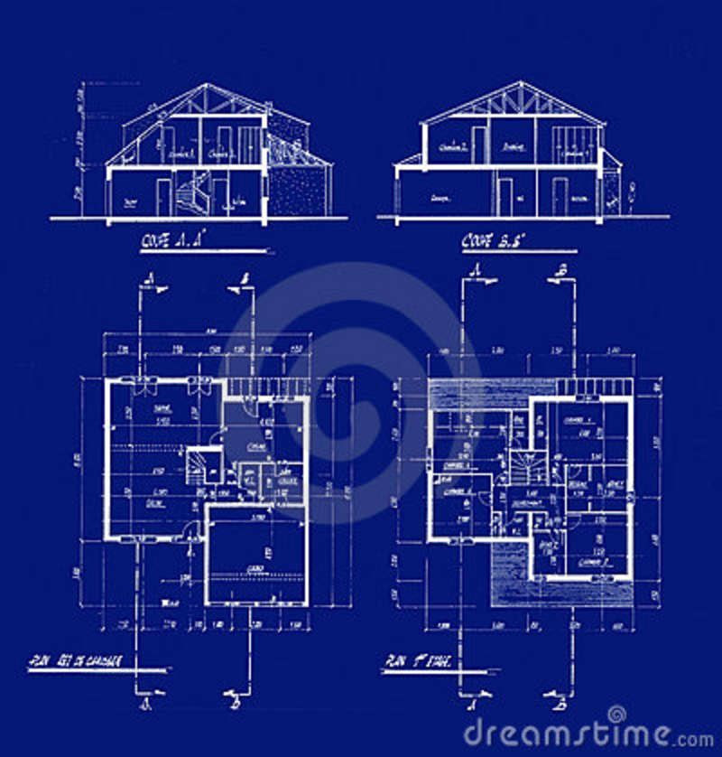 houseblueprints4506487  Model Sheet  Blue Print  Pinterest