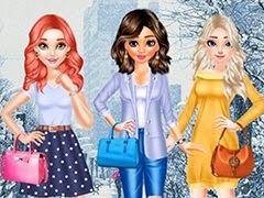 أزياء الشتاء أميرات ديزني