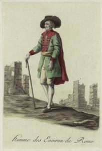 Homme des environ de Rome. Digital ID: 812274. New York Public Library