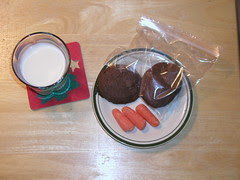 Cookies for Mr and Mrs Claus