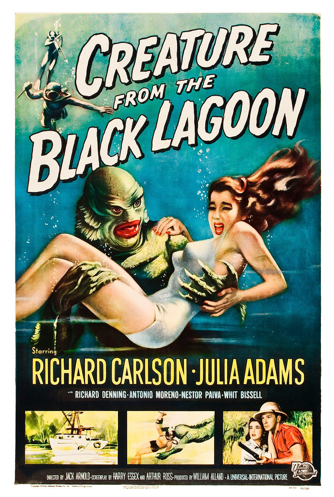Reynold Brown - Creature From the Black Lagoon (Universal International, 1954)