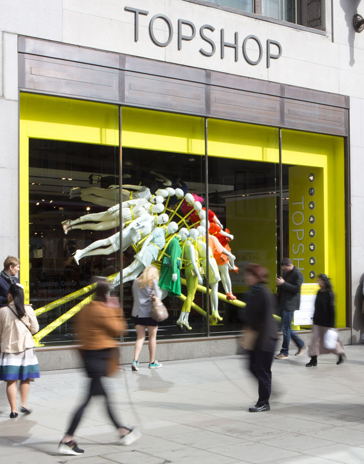 TOPSHOP windows NEON architects studioXAG London 07 TOPSHOP windows by NEON architects & studioXAG, London
