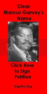 Clear Marcus Garvey Red