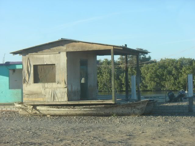 The only houseboat in Boca del Rio