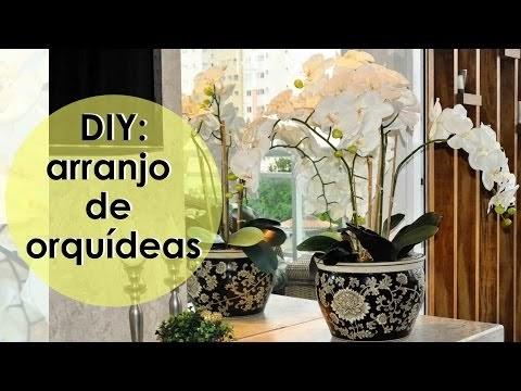 DIY: COMO MONTAR ARRANJO DE ORQUÍDEAS