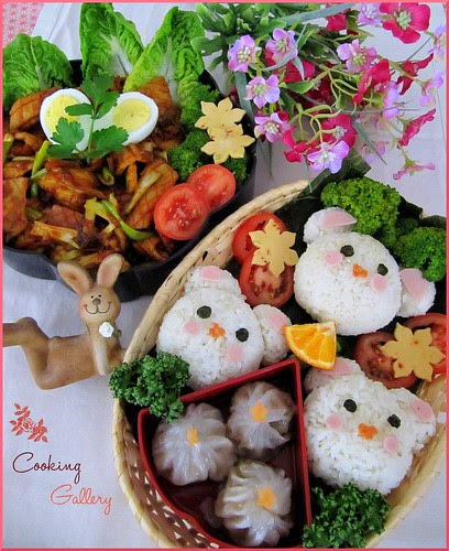 Three Little Bears Bento by Cooking-Gallery