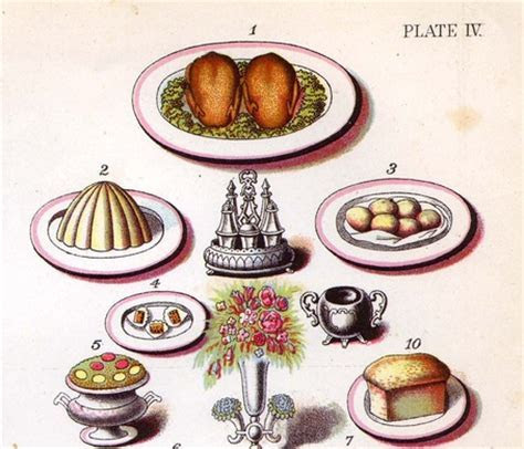 Victorian Food Illustration   Art and illustrations