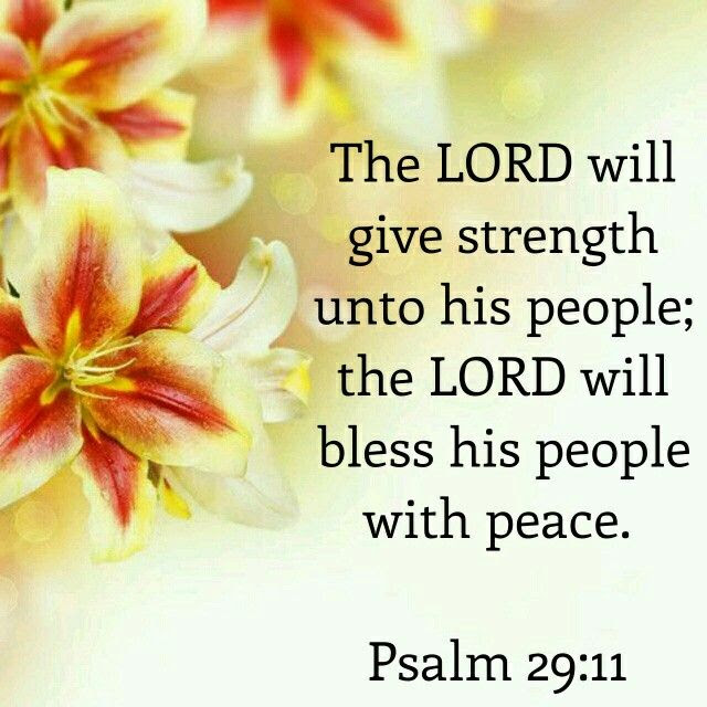 Image result for Psalm 29:11
