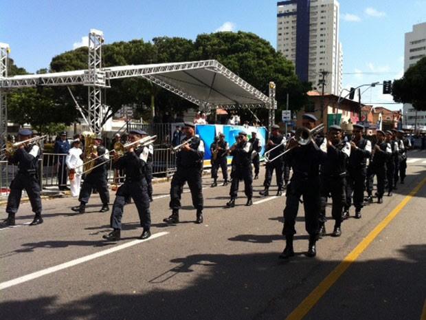 Governadora Rosalba não participa do desfile de 7 de Setembro em Natal (Foto: Igor Jácome/G1)