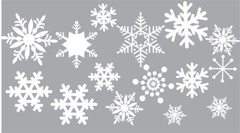 Removable Snow Wall and Window Decals   Christmas Decal