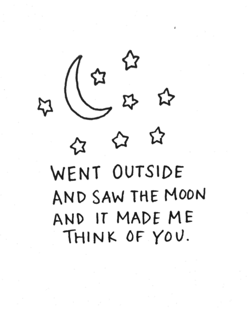 Love Art Cute Quote Tumblr Text Happy Quotes Typography You Moon