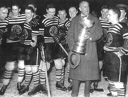 Chicago Blackhawks 1934 Cup Champions