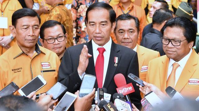 Permintaan Maaf Jokowi, Hanura Tak Dapat Kursi Menteri