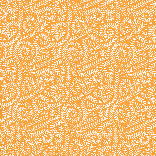 4-tangerine_BRIGHT_VINE_melstampz_12_and_a_half_inches_SQ_350dpi