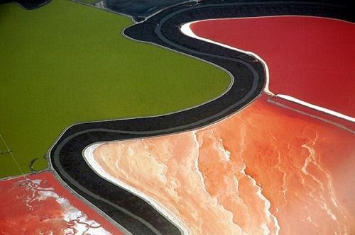 634878493275190000 Tuyệt vời sắc màu của ruộng muối ở San Francisco