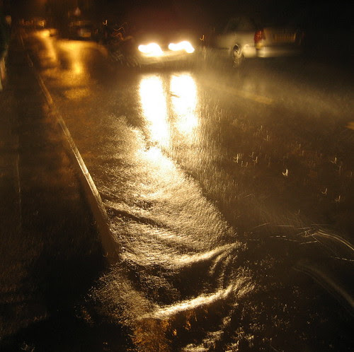 Falling rain, Running Water