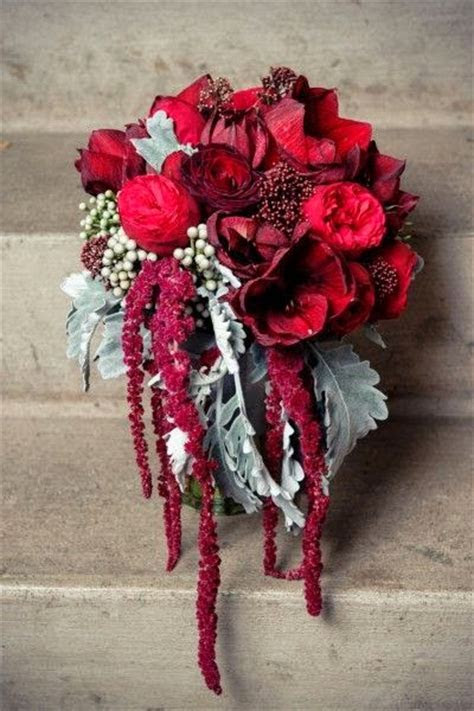 Wine Colored Bridal Bouquets   Bouquet Wedding Flower