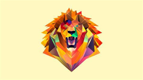 Abstract Tiger Facet, HD Abstract, 4k Wallpapers, Images