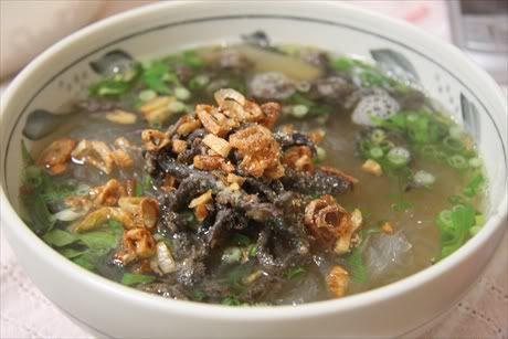 Miến lươn Hà Nội