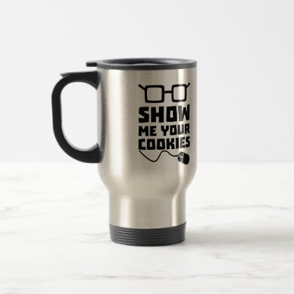 Show me your Cookies Zx363 Travel Mug
