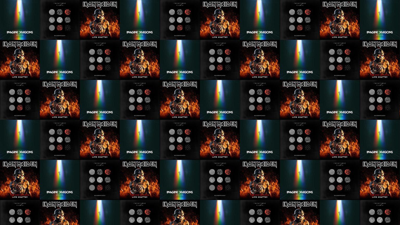 Imagine Dragons Evolve Twenty One Pilots Blurry Face Wallpaper