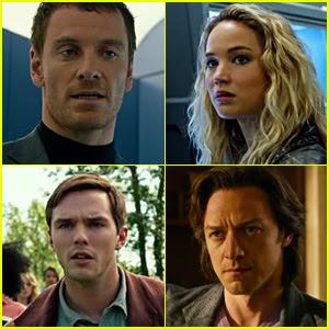 ... & Nicholas Hoult Star in 'X-Men: Apocalypse' Trailer - Watch Now