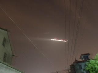 UFO shuts down Chinese airport