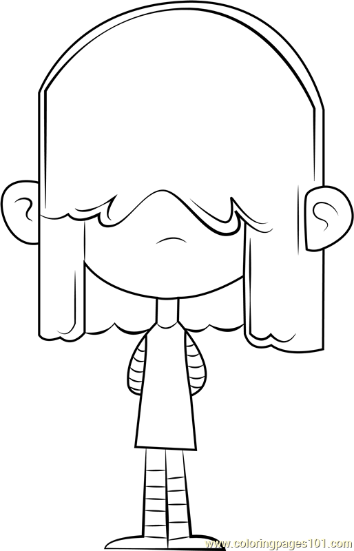 35 Loud House Coloring Sheets - Free Printable Coloring Pages