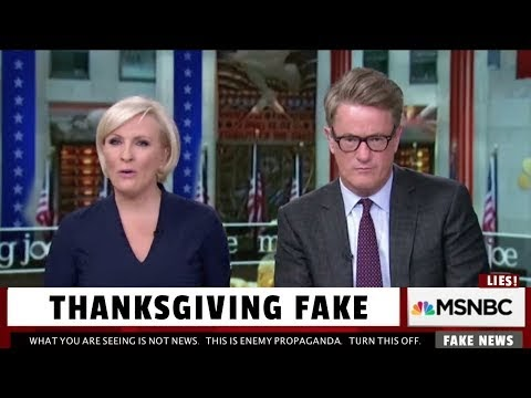 MSNBC Fakes Live Thanksgiving Day After Show - #livinMicro #FairlyAdept #soWrongItsWrite #MSNBC #Fakes...