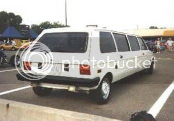 Limusine Fiat 147